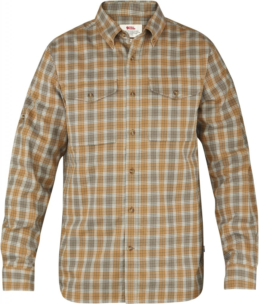 FjallRaven Sarek Shirt LS Chestnut-30