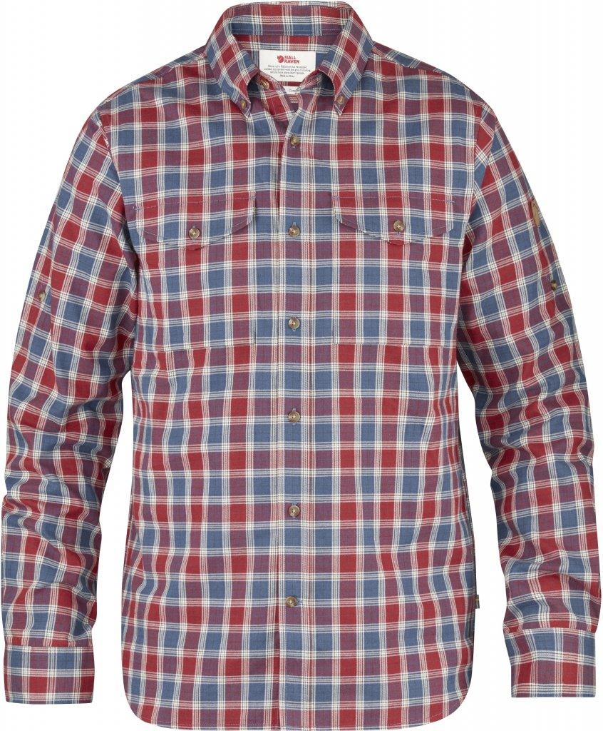 FjallRaven Sarek Shirt LS Deep Red-30