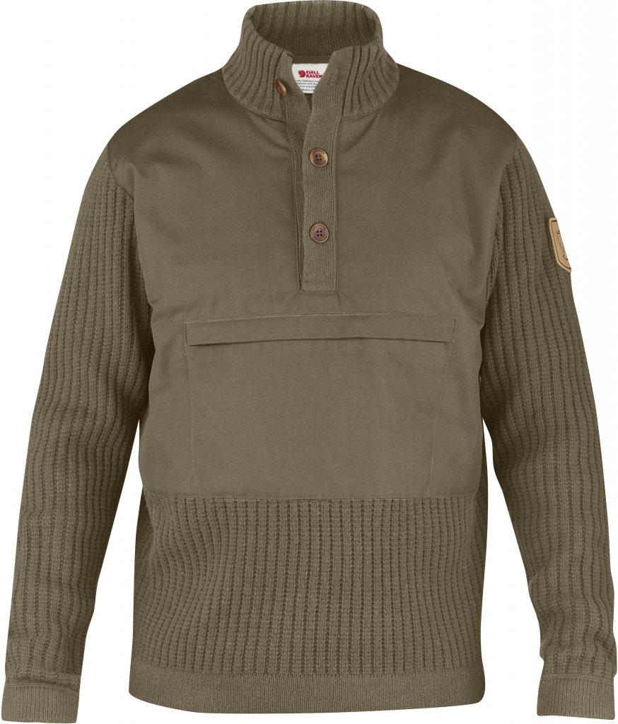 FjallRaven Sarek Torso Sweater Taupe-30