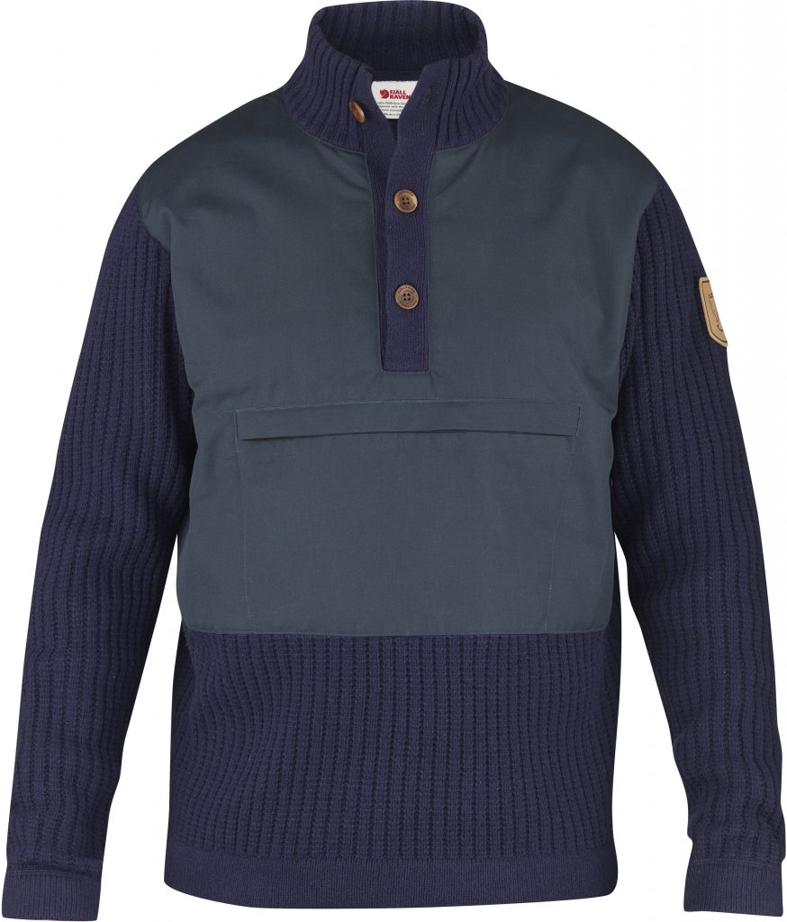FjallRaven Sarek Torso Sweater Dark Navy-30