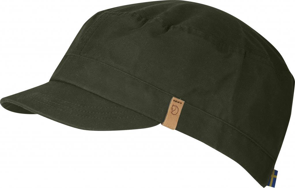 FjallRaven Sarek Trekking Cap Olive-30
