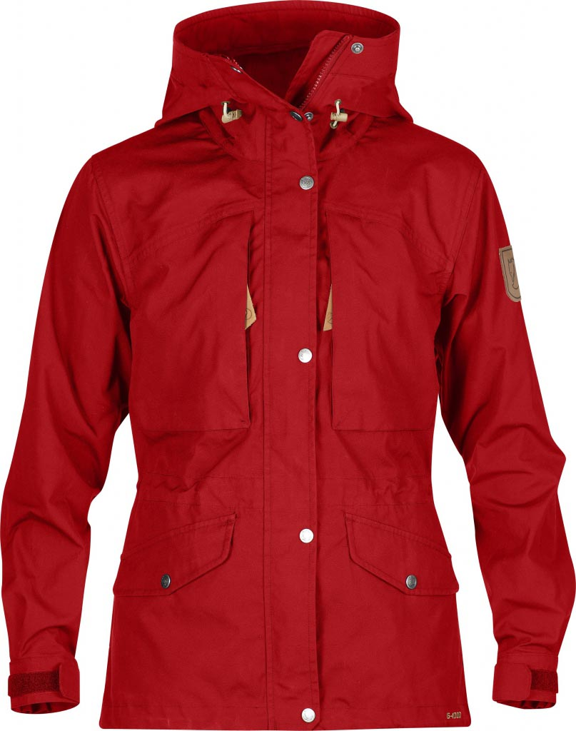 FjallRaven Sarek Trekking Jacket W. Red-30