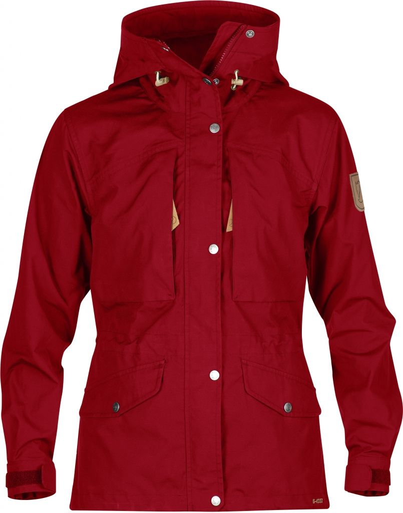 FjallRaven Sarek Trekking Jacket W. Deep Red-30