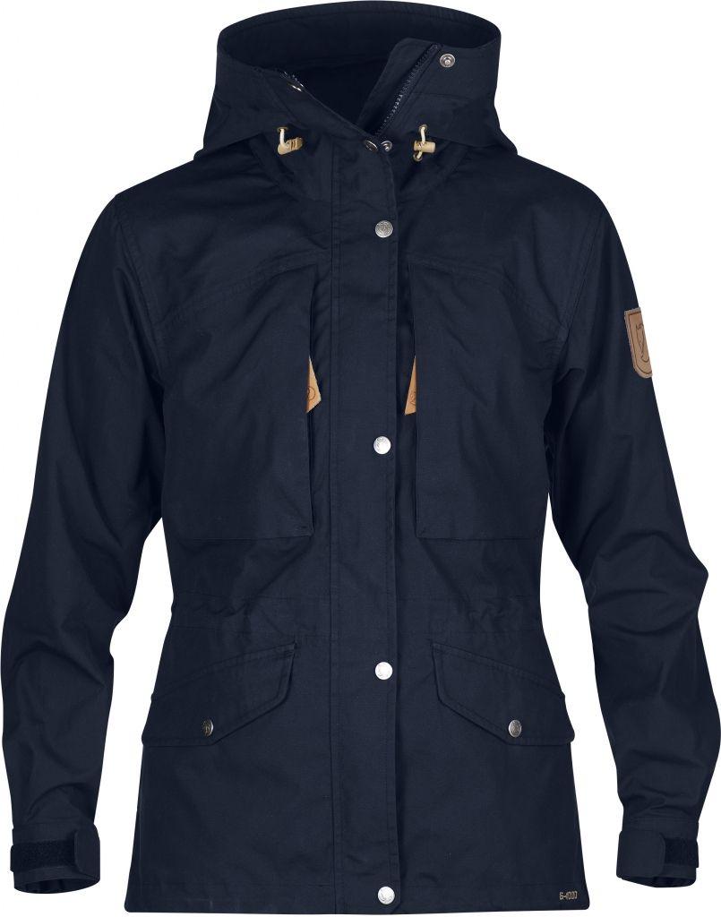 FjallRaven Sarek Trekking Jacket W. Dark Navy-30