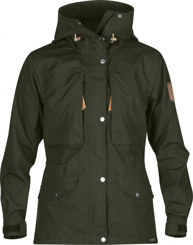 FjallRaven Sarek Trekking Jacket W. Olive-30
