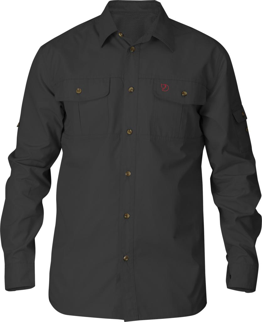 FjallRaven Sarek Trekking Shirt Dark Grey-30