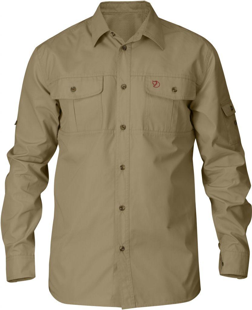 FjallRaven Sarek Trekking Shirt Sand-30