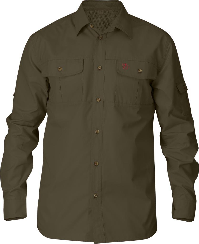 FjallRaven Sarek Trekking Shirt Dark Olive-30