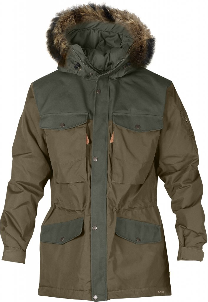FjallRaven - Sarek Winter Jacket Taupe - Isolation & Winter Jackets - XL