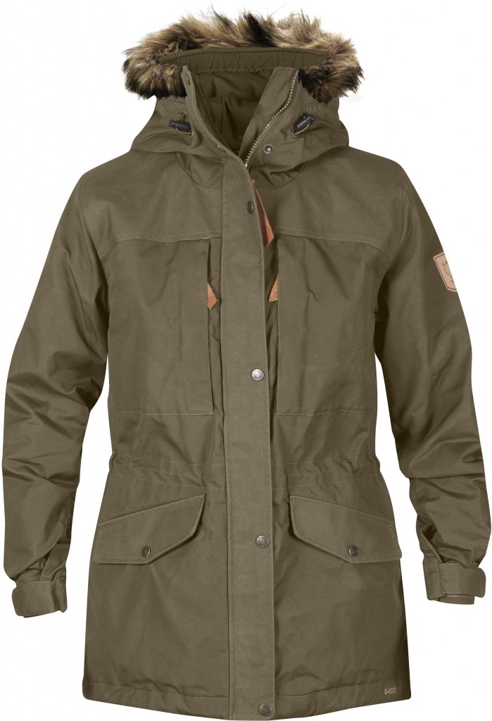 FjallRaven Sarek Winter Jacket W. Taupe-30