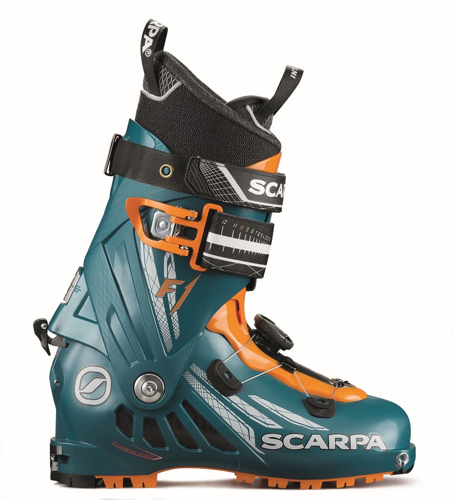 Scarpa F1 Evo Manual Petrol Blue-30
