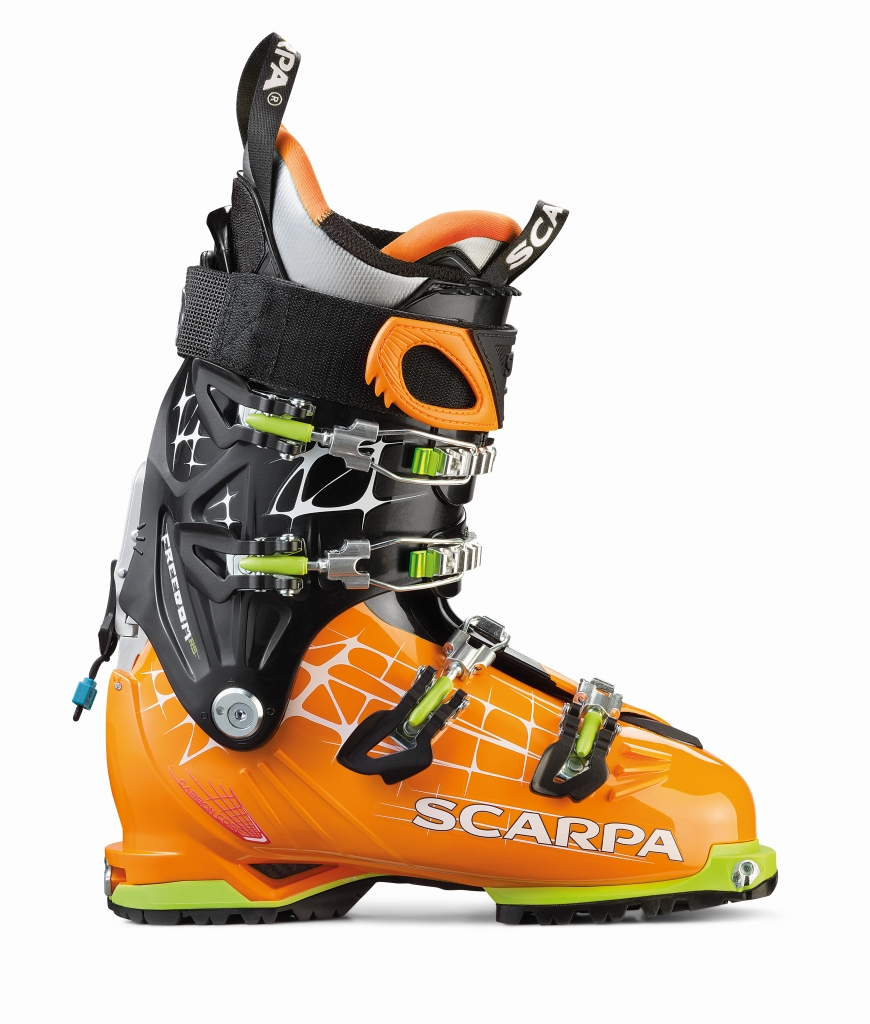Scarpa Freedom RS Orange/White-30