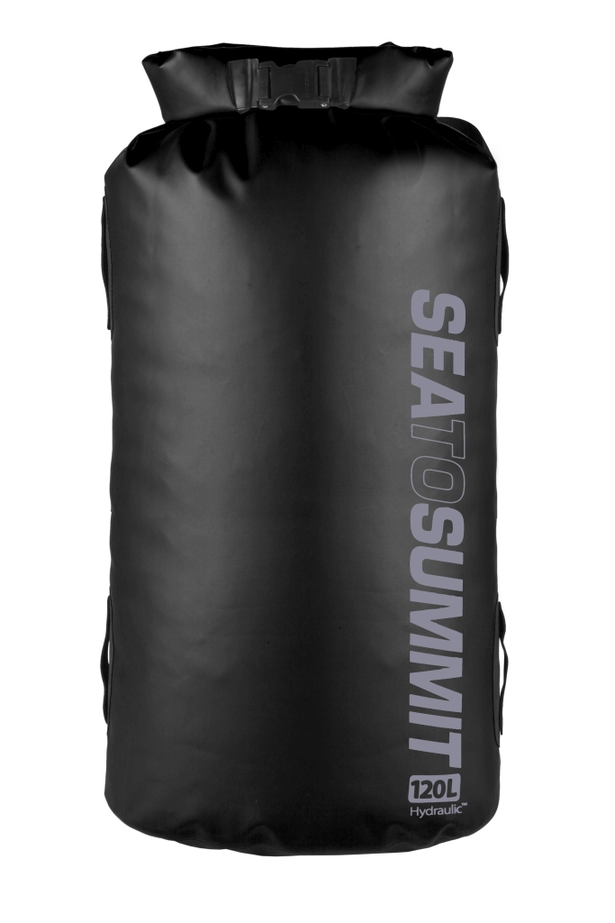 Sea To Summit Hydraulic Dry Bag with Harness 120 L Black-30