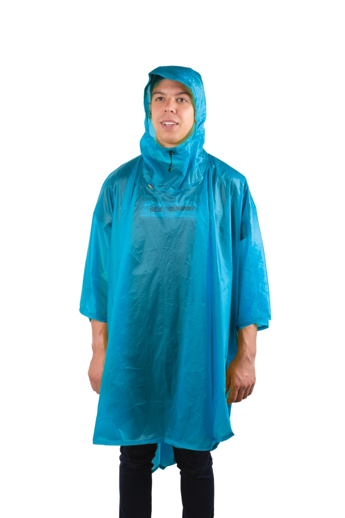 Sea To Summit Poncho 15D Blue-30