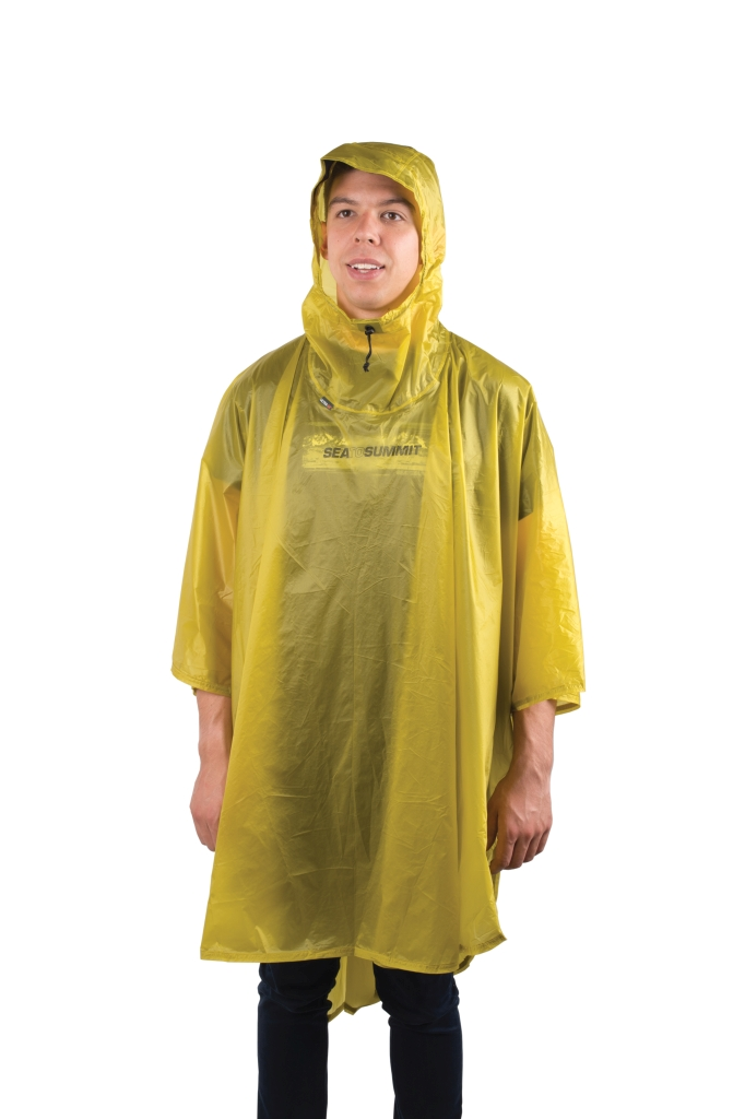 Sea To Summit Poncho 15D Lime-30