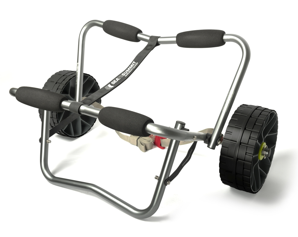 Sea To Summit Large Cart solid wheels Titanium-30