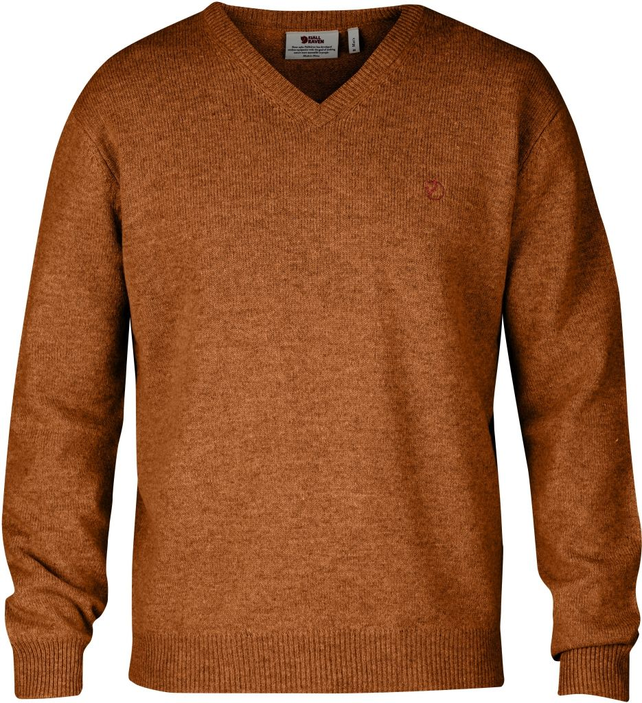 FjallRaven Shepparton Sweater Autumn Leaf-30