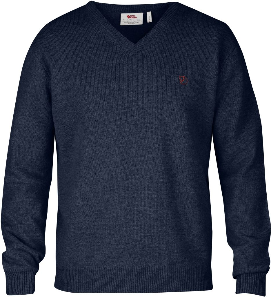 FjallRaven Shepparton Sweater Dark Navy-30