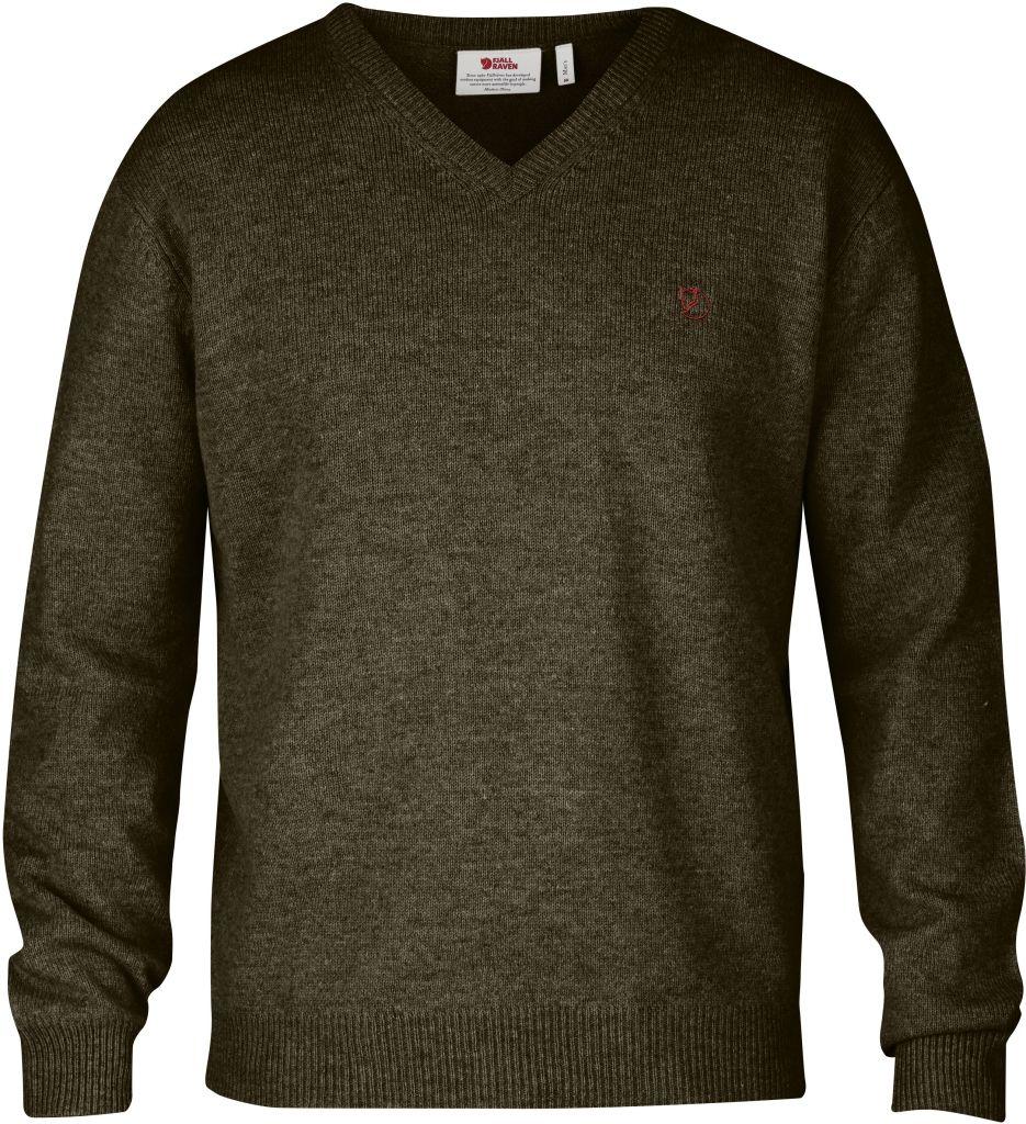 FjallRaven Shepparton Sweater Dark Olive-30