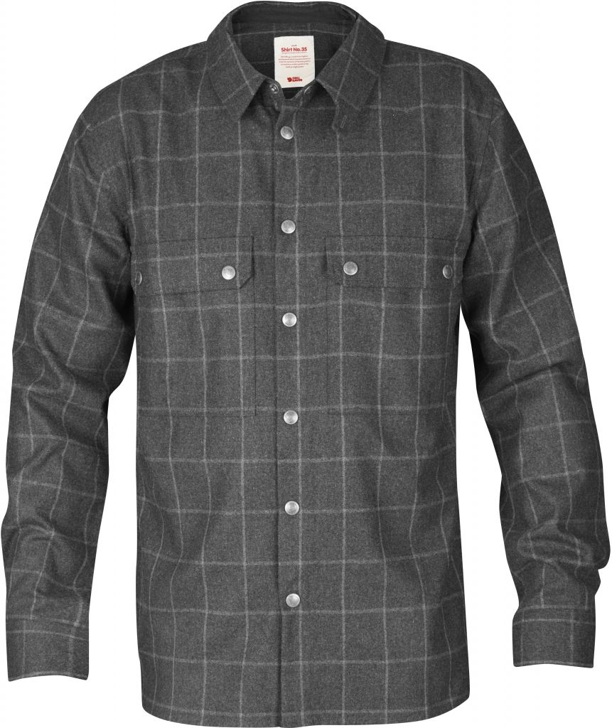 FjallRaven Shirt No. 35 Dark Grey-30