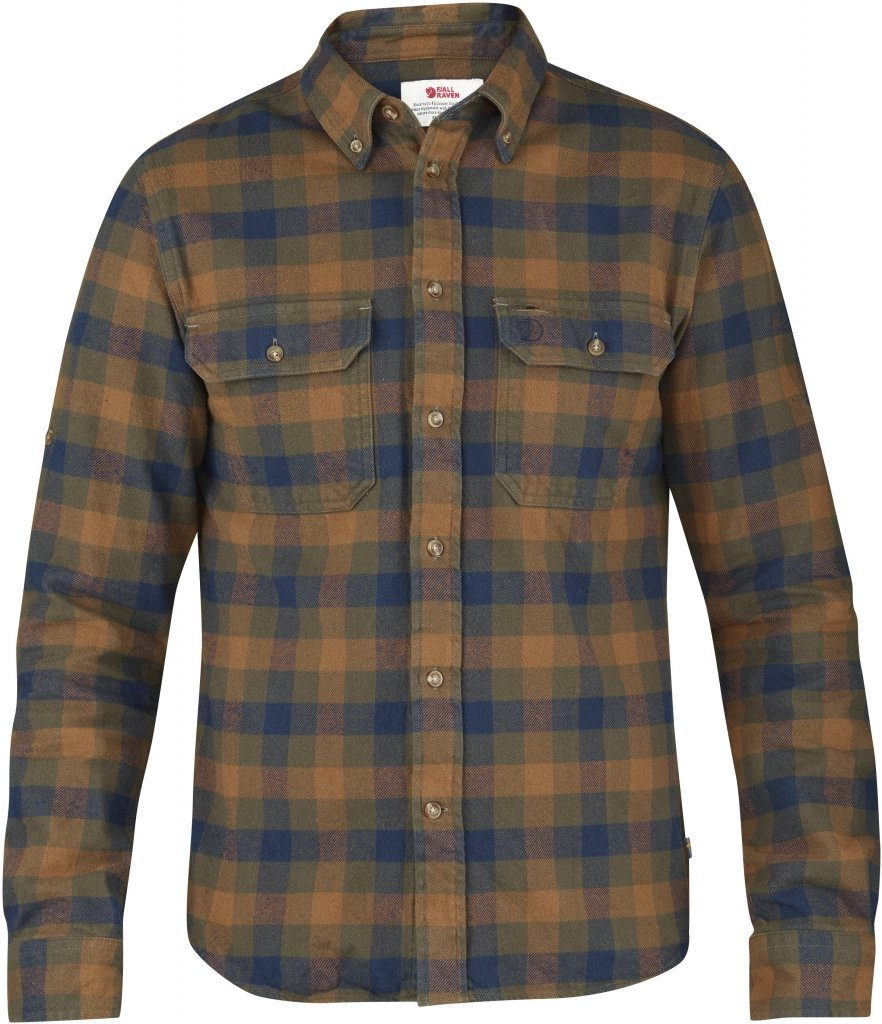 FjallRaven Skog Shirt Chestnut-30