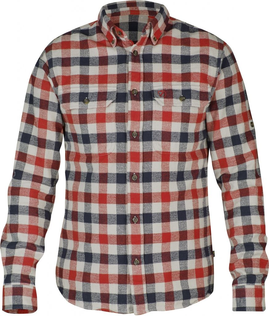 FjallRaven Skog Shirt Red-30