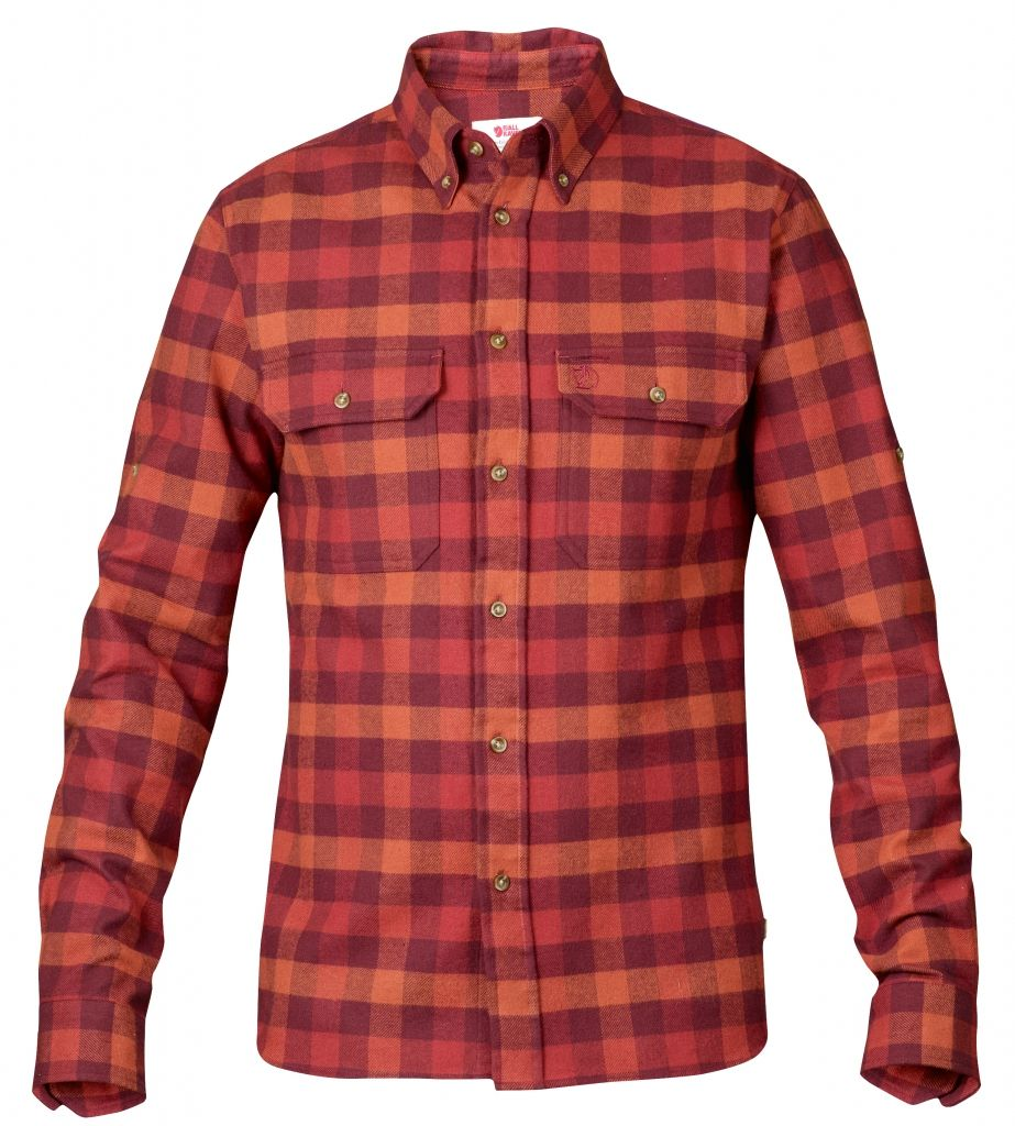FjallRaven Skog Shirt Deep Red-30