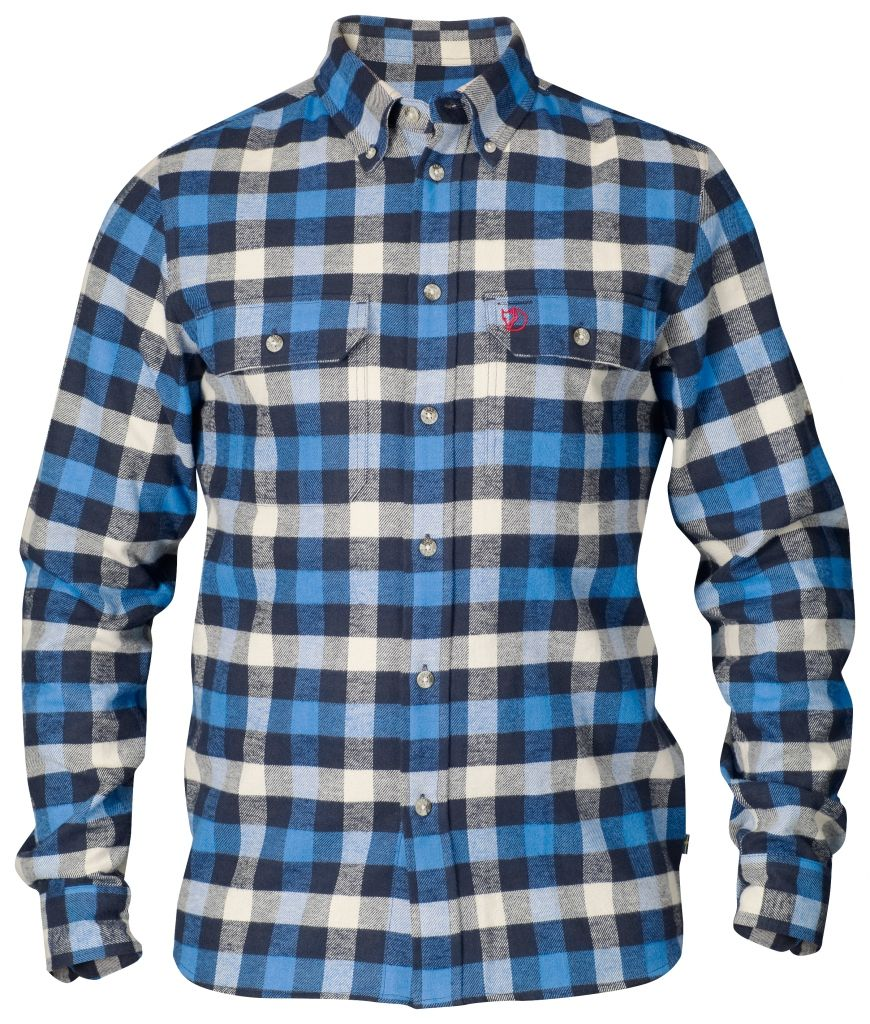 FjallRaven Skog Shirt UN Blue-30