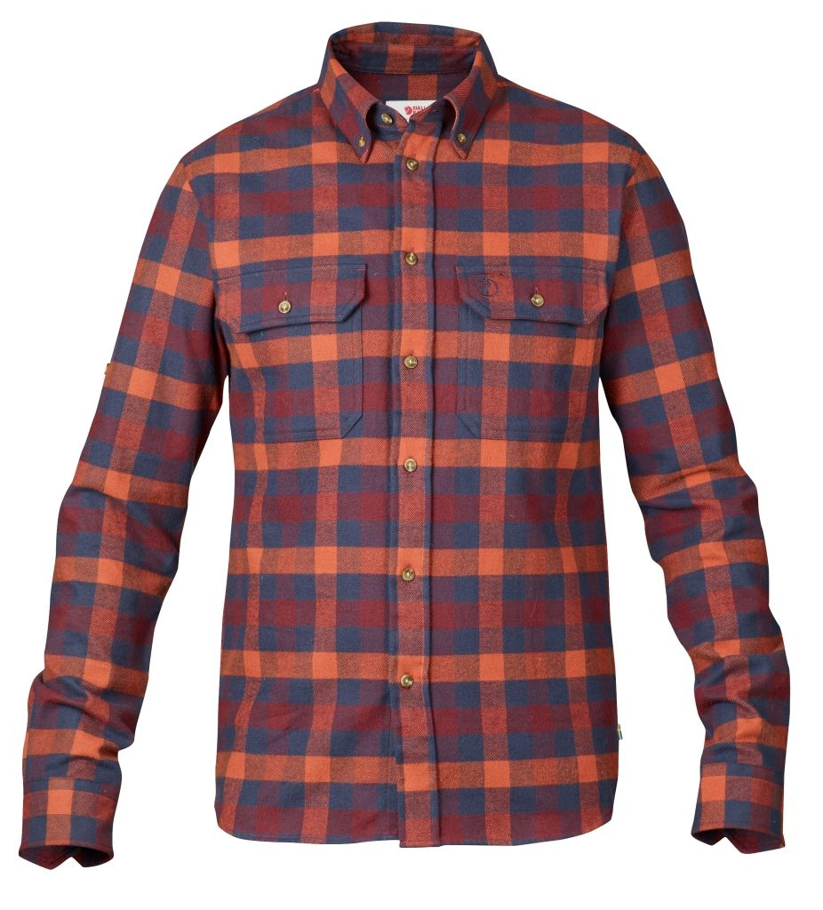 FjallRaven Skog Shirt Navy-30