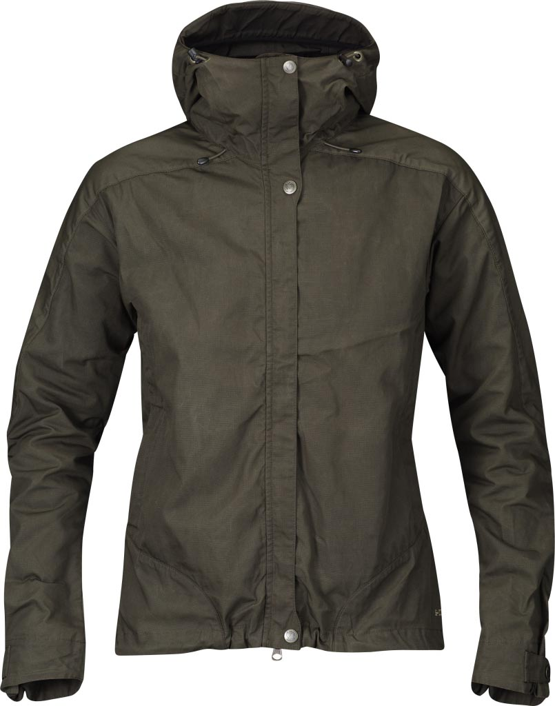 FjallRaven Skogsö Jacket Women Dark Olive-30