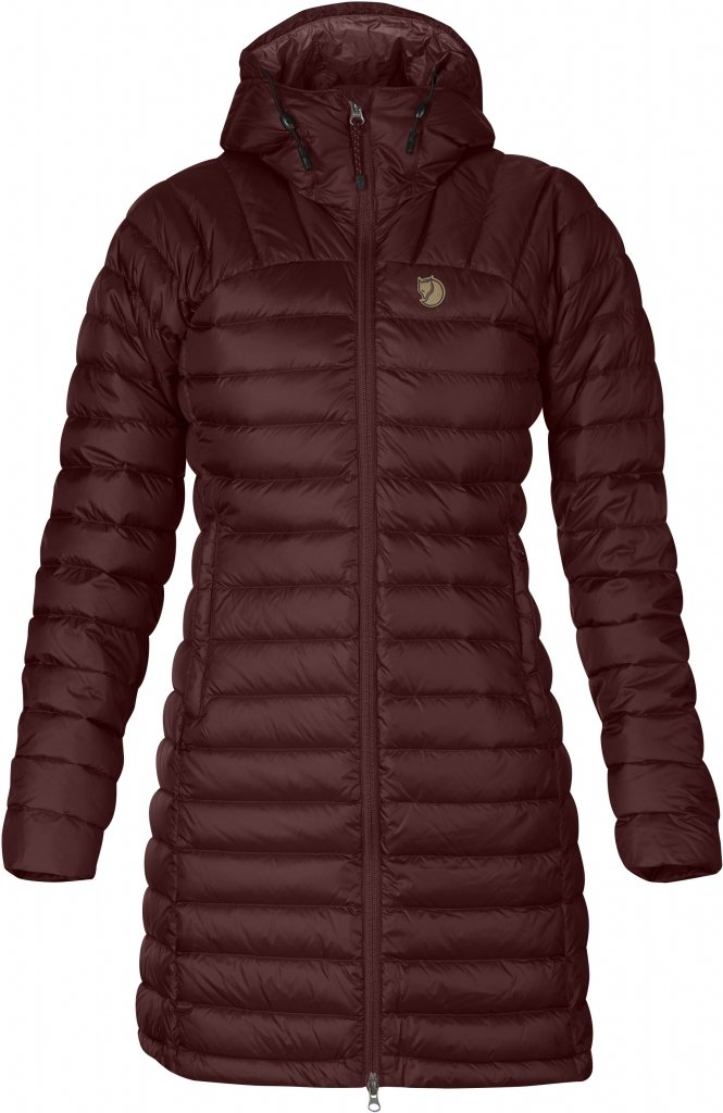 FjallRaven Snow Flake Parka Burnt Red-30
