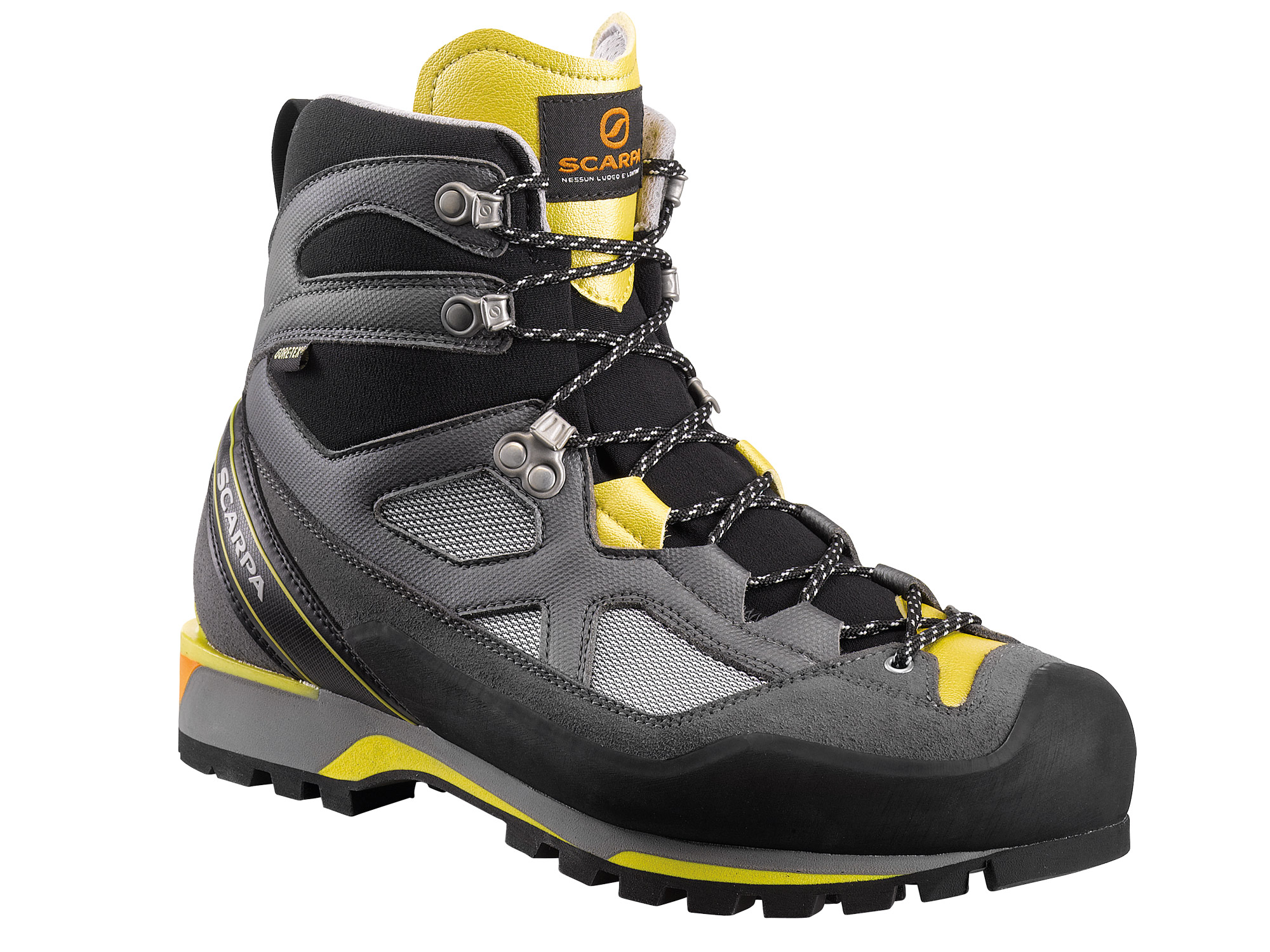 Scarpa Rebel Lite GTX Gray/Lemon-30
