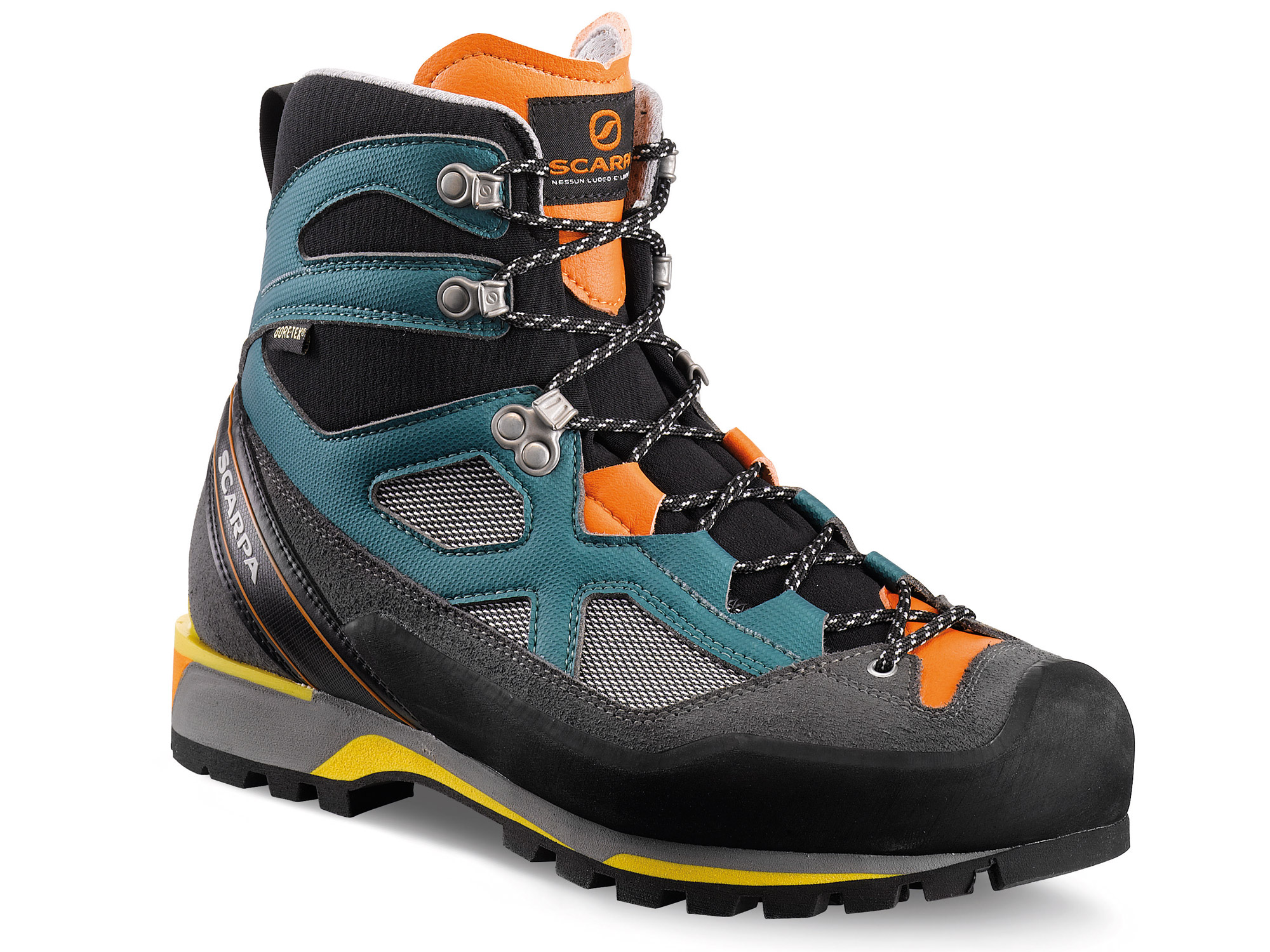 Scarpa Rebel Lite GTX Petrol/Orange-30