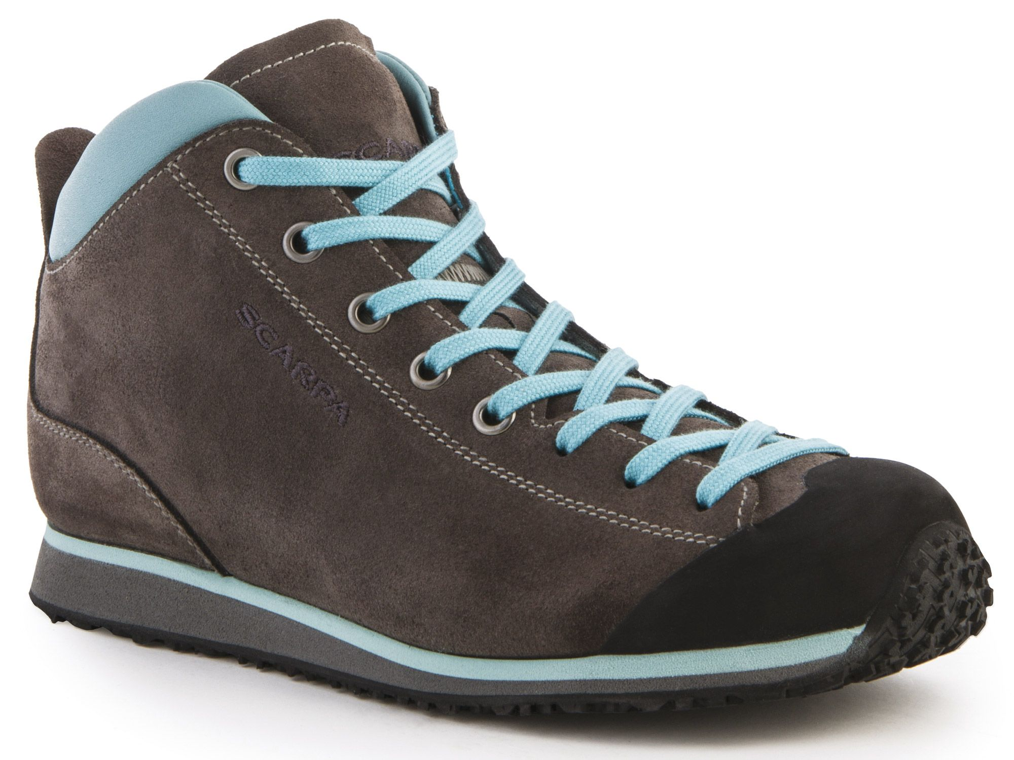 Scarpa Mojito Basic Mid Charcoal/Mineral Blue-30