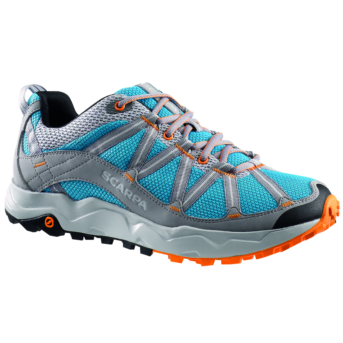 Scarpa - Ignite Wmn Azure-Silver - Trailrunning Shoes - 39,5