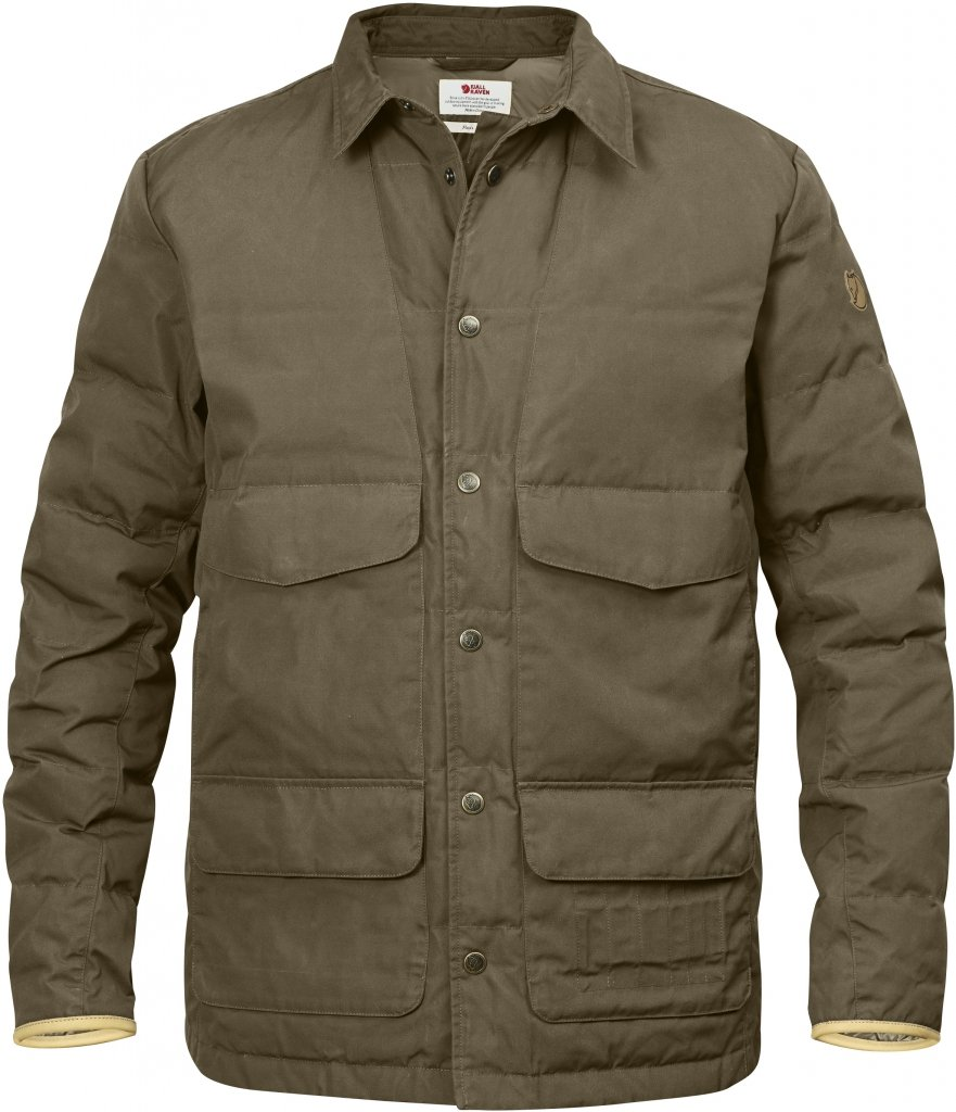 FjallRaven Sormland Down Shirt Jacket Taupe-30