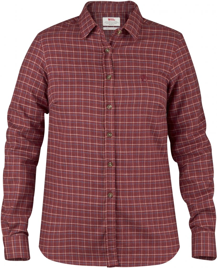 FjallRaven Sormland Flannel Shirt LS W Autumn Leaf-30