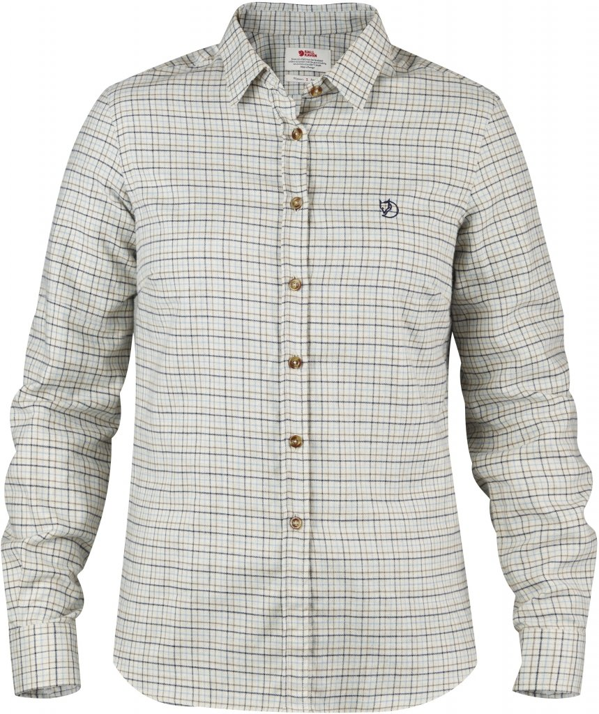 FjallRaven Sormland Flannel Shirt LS W Taupe-30