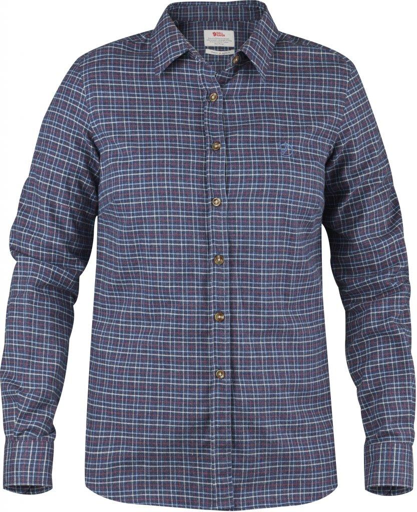 FjallRaven Sormland Flannel Shirt LS W Navy-30