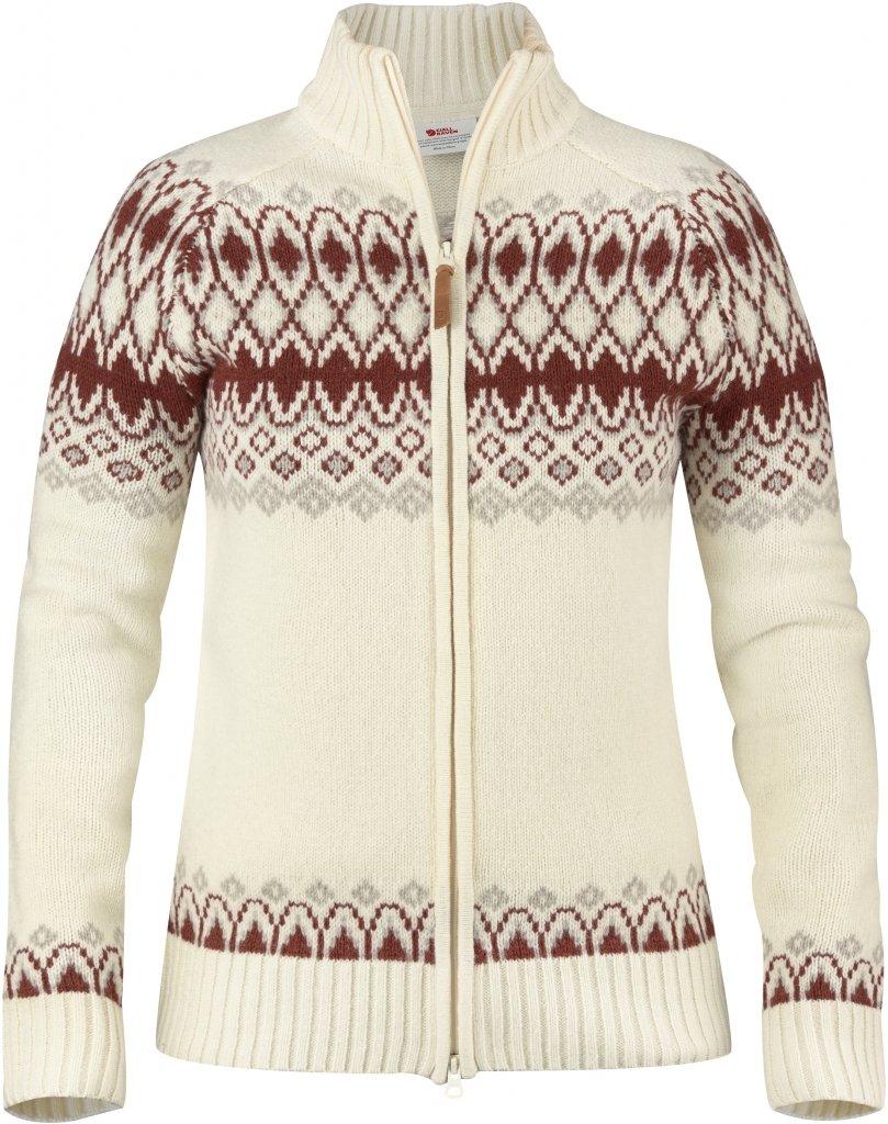 FjallRaven Sormland Jacquard Sweater W Eggshell-30