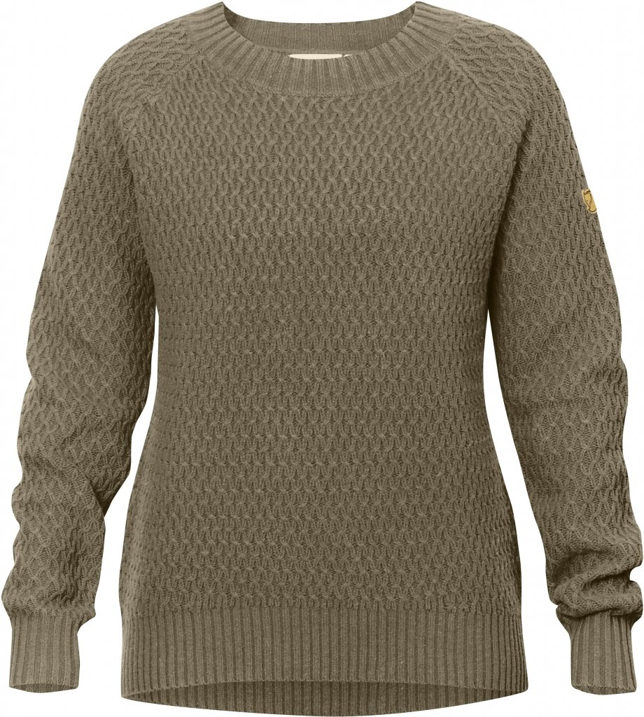 FjallRaven Sormland Roundneck Sweater W Taupe-30