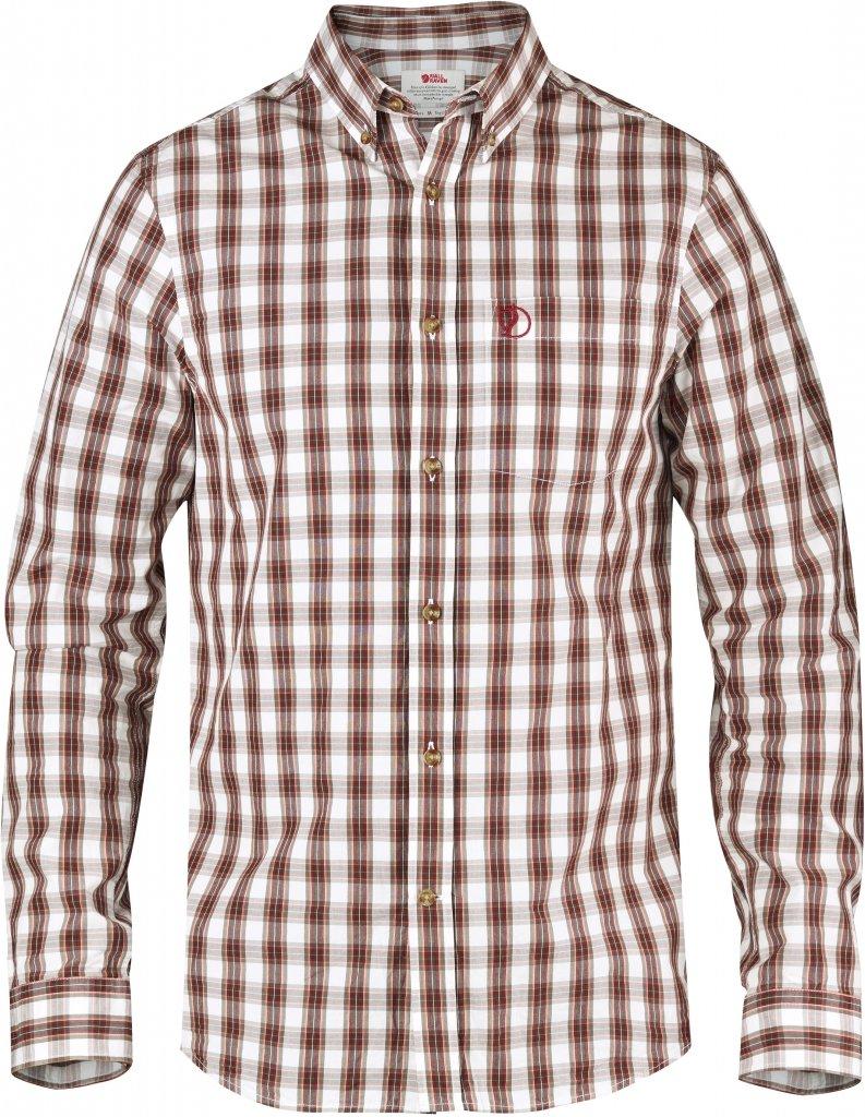 FjallRaven Sormland Shirt LS Chestnut-30