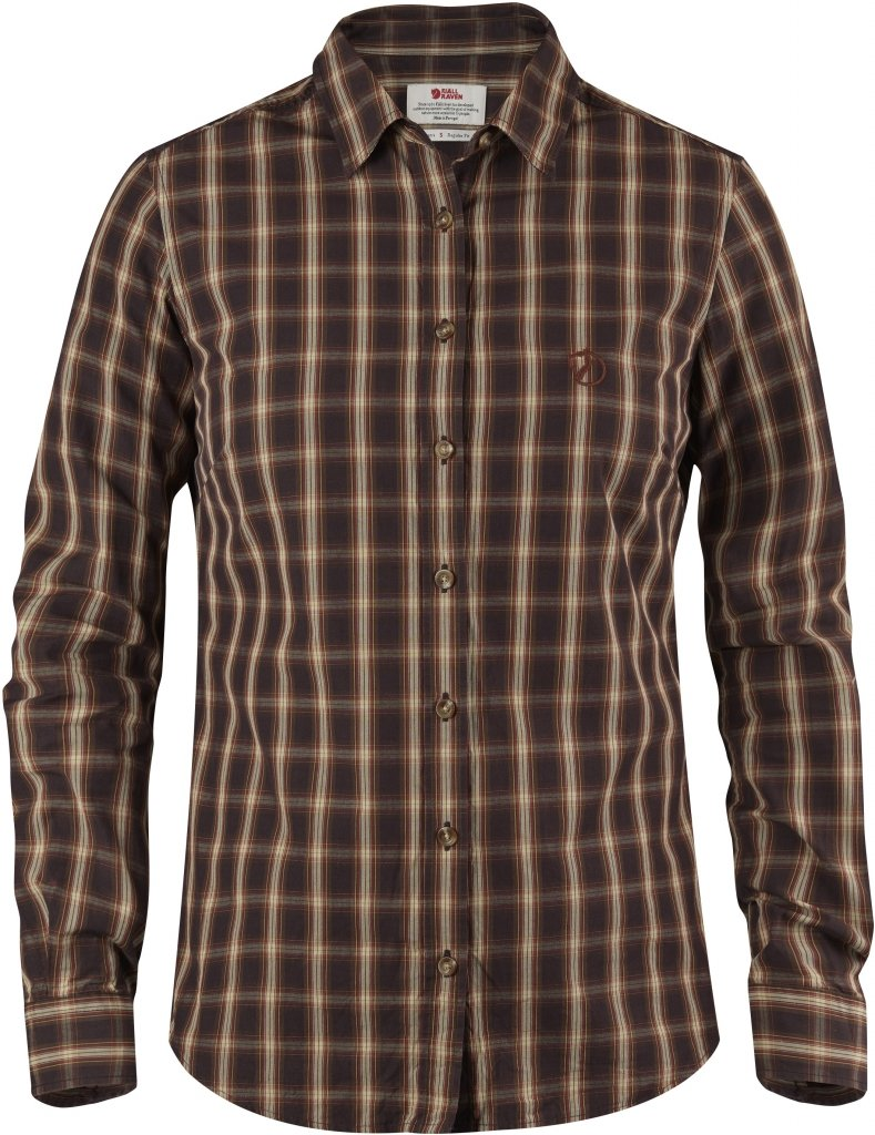 FjallRaven Sormland Shirt LS W Autumn Leaf-30