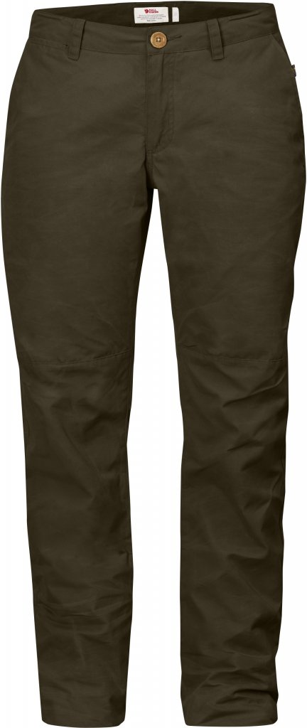 FjallRaven Sormland Tapered Trousers W Dark Olive-30