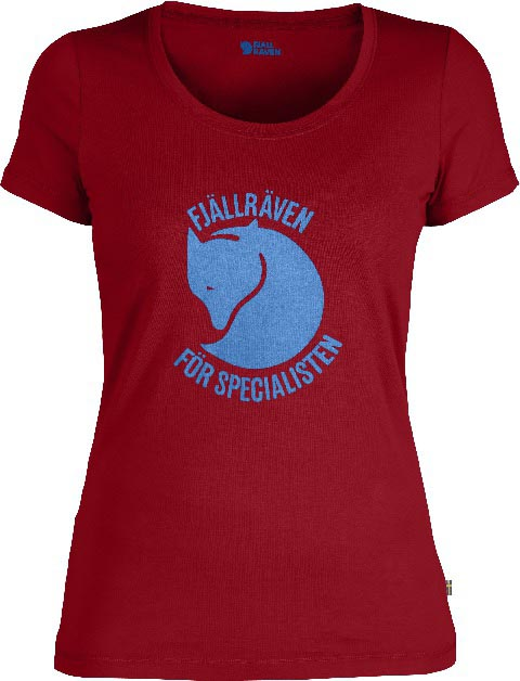 FjallRaven Specialisten T-shirt W. Deep Red-30