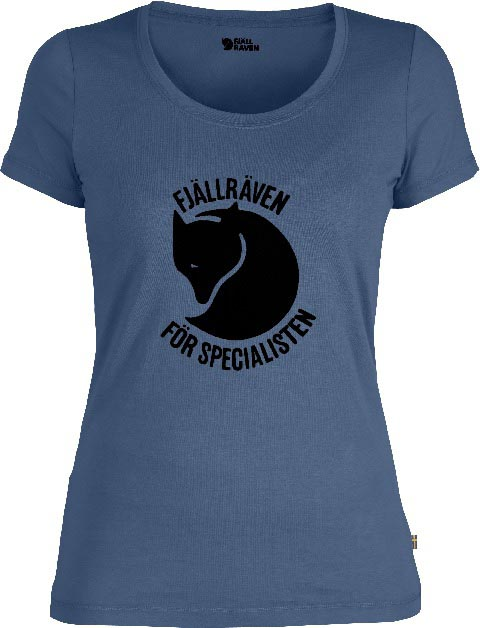 FjallRaven Specialisten T-shirt W. Misty Blue-30