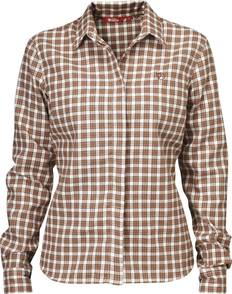 FjallRaven Stina Flannel Shirt W. Rust-30
