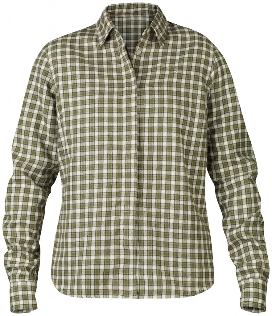 FjallRaven Stina Flannel Shirt W. Green-30