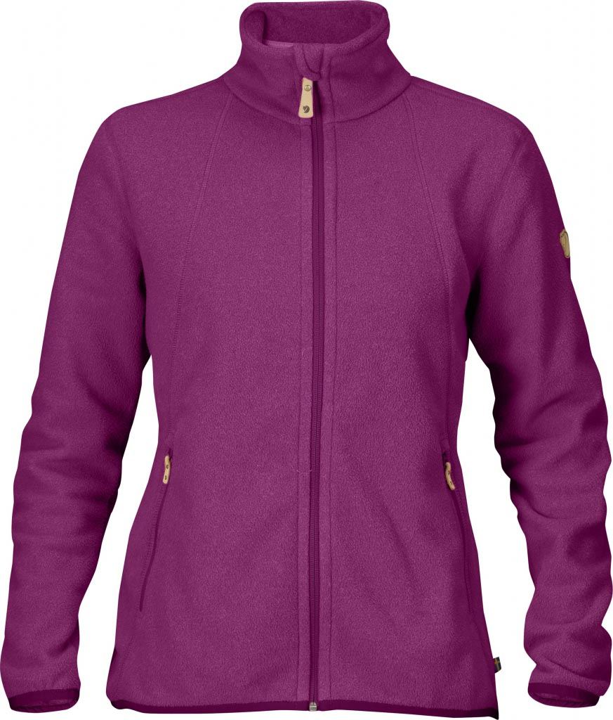 FjallRaven Stina Fleece Fuxia-30