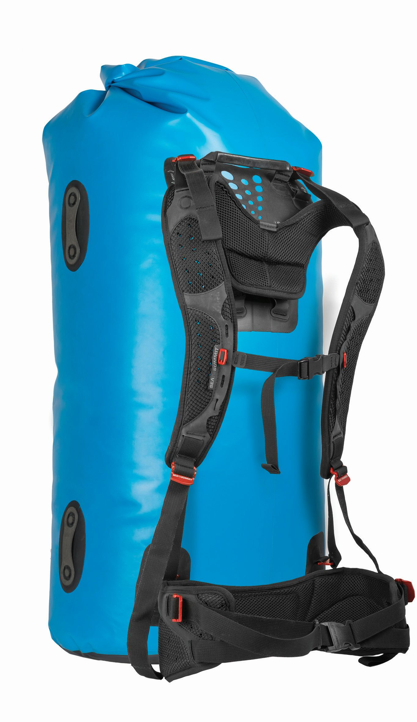 Sea To Summit Hydraulic Dry Bag with Harness 65L Blue-30